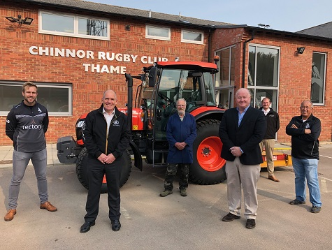 KUBOTA DONATE TO LOCAL RUGBY CLUB