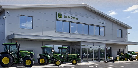 JOHN DEERE ANNOUNCE EXPANSION PLANS FOR DEALERS TO FILL TERRITORY
