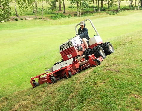 HUNDREDS OF GREENKEEPING HOURS SAVED